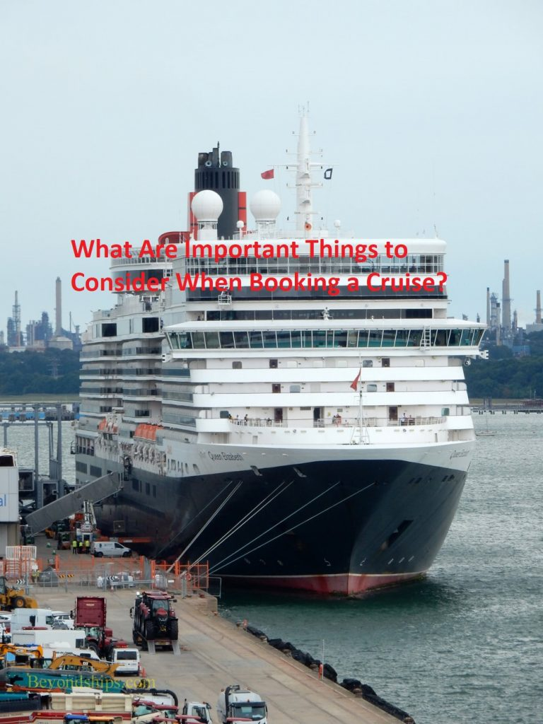 What Are Important Things to Consider When Booking a Cruise?